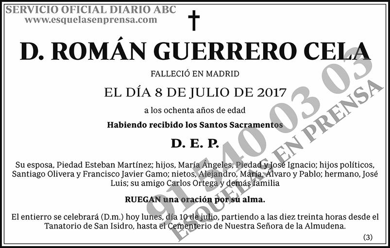 Román Guerrero Cela